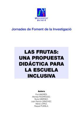 las frutas propuesta didactica para una escuela inclusiva imagen