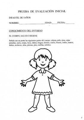 INICIAL INFANTIL 5 AÑOS CONOCIMIENTO ENTORNO