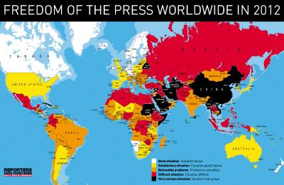 Libertad de Prensa EN EL Mundo