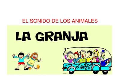 EL SONIDO DE LOS ANIMALES LA GRANJA CANCION INFANTIL IMAGEN_1