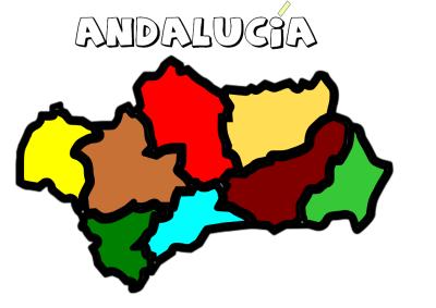 COMUNIDAD ANDALUZA COLOREADA