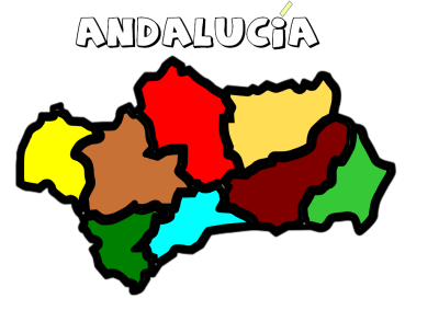 COMUNIDAD ANDALUZA COLOREADA