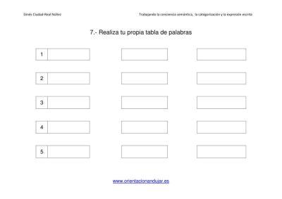 Conciencia semántica, categorización y escritura creativa 1 (6)