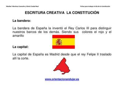 Escritura creativa la constitución Primaria y secundaria imagen 1