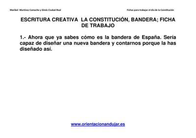 Escritura creativa la constitución Primaria y secundaria imagen 2