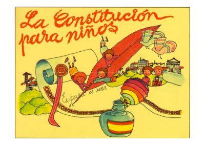 la constitucion en imagenes actividades para infantil y primaira