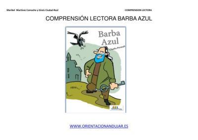 COMPRENSIÓN LECTORA BARBA AZUL IMAGENES 1