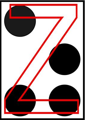 braille letra Z