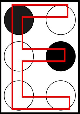 braille letra e