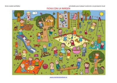 actividades para trabajar la atención y la percepción visual en el parque imagen  1
