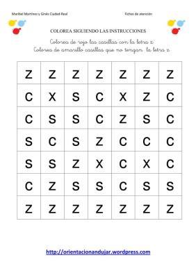 colorea las letras segun las instrucciones-2