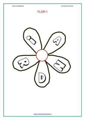 Actividades lectoescritura las flores de las letras imagenes_03