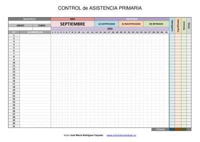 CONTROL DE ASISTENCIA PRIMARIA