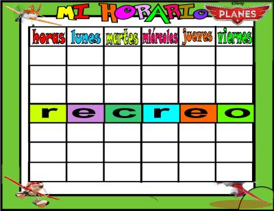 plantilla horario horario planes 6 horas 1