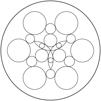 Mandala  de circulos 7