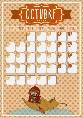 calendario octubre imagen completa
