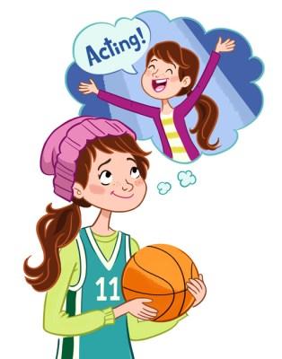 lamina expresion oral sueños con jugar al baloncesto