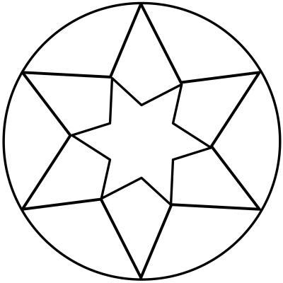 mandala estrella 4
