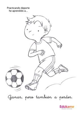 fichas para colorear  deporte y emociones Edukame_Page_10