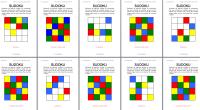 Sudokus entretenidos de colores de 4 por 4 de nivel fácil para trabajar el razonamiento lógico, la percepción visual, la moticidad fina, la memoria y sobre todo la atención matendida […]