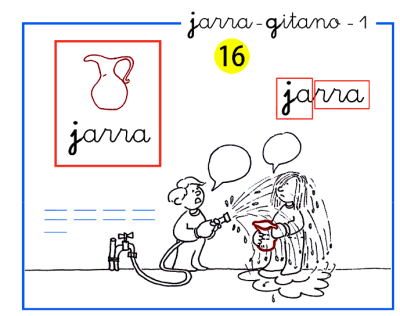 Completo método de lectoescritura paso a paso letra j de jarra y g de gitano