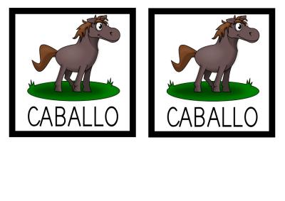 MEMORY CABALLO