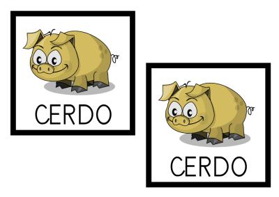 MEMORY CERDO