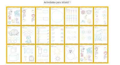 Cuadernillo de actividades de educación preescolar 1 Actividades para infantil