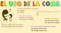 Os compartimos este material del blog de Imagenes educativas  La coma es uno de los signos de puntuación de nuestro idioma más importantes. Su función fundamental es indicar en […]