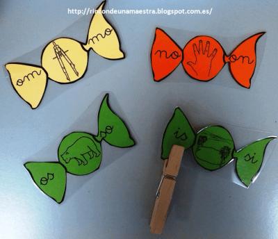 Juego manipulativo de Las sílabas locas  trabajamos la lectoescritura  (3)