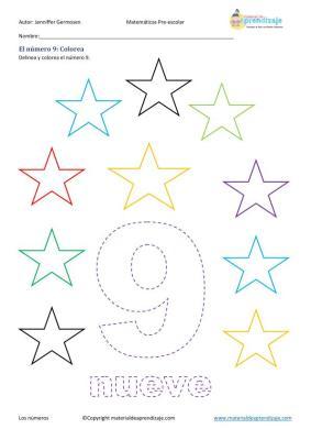 aprendemos a contar en preescolar imagenes_33
