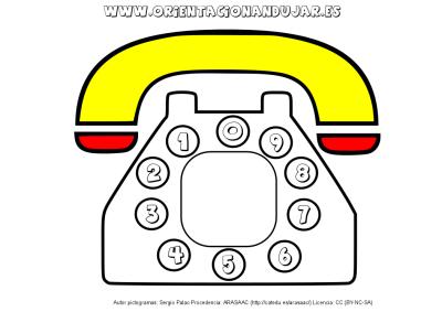 llamamos por telefono mudo para poner tarjetas