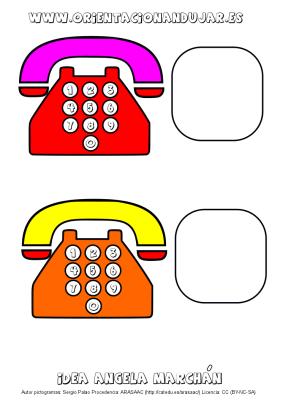 llamamos por telefono tarjeta muda