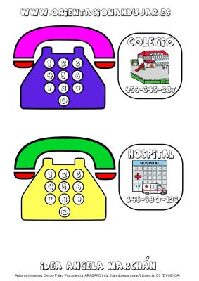 llamamos por telefono tarjetas de numeros de telefono 2