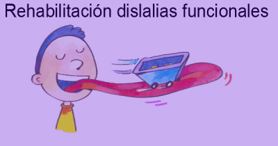 rehabilitacion dislalias funcionales
