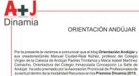 Mañana viernes vamos a Jaén a recoger el premio de la Asociación Dinamia que ha tenido bien a concedernos por los recursos que día día compartimos con todos vosotros en […]