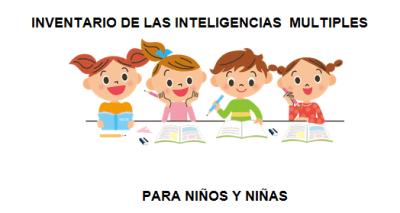 INVENTARIO DE IIMM PARA NIÑOS Y NIÑAS INTELIGENCIAS MULTIPLES