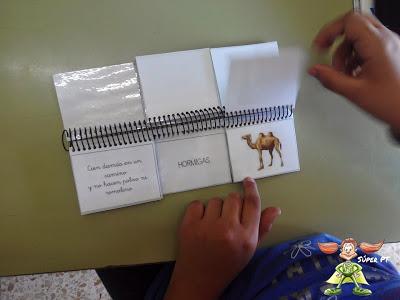 Materiales manipulativos el libro movil de las adivinanzas SUPERPT 4