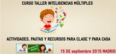 Curso Inteligencias Múltiples, TIC y herramientas 2.0 ON LINE 3ª Edición