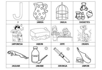 El abecedario de los objetos listo para imprimir (12)