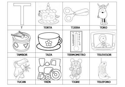 El abecedario de los objetos listo para imprimir (23)