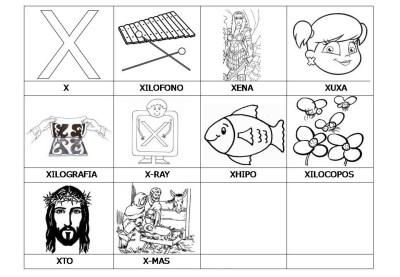 El abecedario de los objetos listo para imprimir (27)