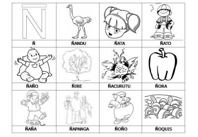 El abecedario de los objetos listo para imprimir (30)