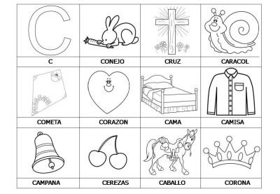 El abecedario de los objetos listo para imprimir (4)