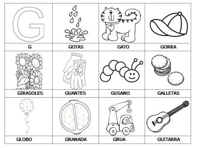 El abecedario de los objetos listo para imprimir (9.1)