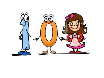 Aprendemos los números del 1 al 10 en español de forma divertida Video, láminas, Bits30