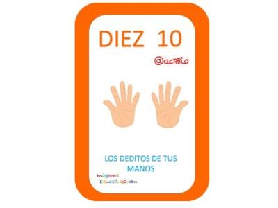Aprendemos los números del 1 al 10 en español de forma divertida Video, láminas, Bits31