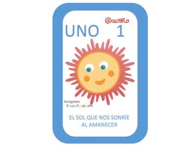 Aprendemos los números del 1 al 10 en español de forma divertida Video, láminas, Bits4