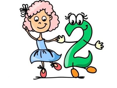 Aprendemos los números del 1 al 10 en español de forma divertida Video, láminas, Bits6