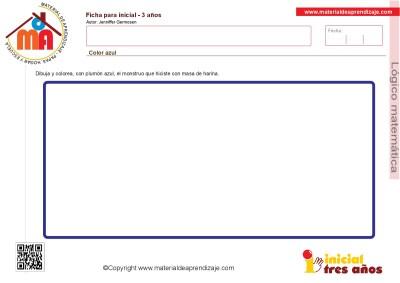 Colección de ficha para trabajar razonamiento Lógico matemático educación Infantil2